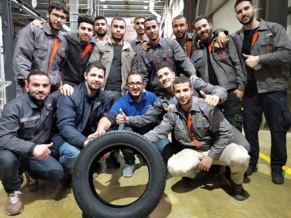 Iris Tyre says it will supply its domestic market in Algeria, but also export up to a third of its production to European and African markets.