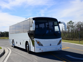 Temsa builds several models of transit and intercity coaches with about 75% of production being exported to more than 66 countries. Temsa/Vandalia Bus Lines