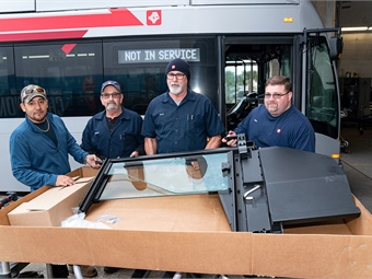 The investment by the JTA Board came after a year-long pilot program launched in 2018 by JTA leadership and with input from bus operators to determine which shield should be adopted. JTA