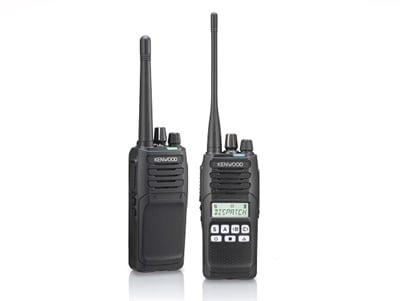 JVCKenwood's NX-1200 and NX-1300 radios operate in two digital protocols and analog. Photo courtesy JVCKenwood