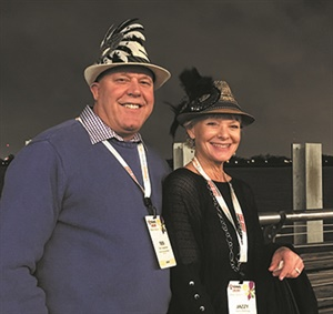 Ted Jorgensen and Jazzy Kellogg from Dixon Tire Pros in Dixon, Calif.
