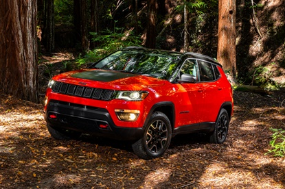 The 2017 Jeep Compass features the WildPeak H/T01A2 in size 215/65R17.