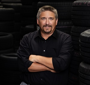 Outgoing Tire Industry Association President John Evankovich is director of Sam's Clubs' tire and battery centers.