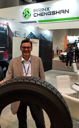 John Aben is the new president of North America for Prinx Chengshan (Shandong) Tire, which is bringing a new TBR line to North America.