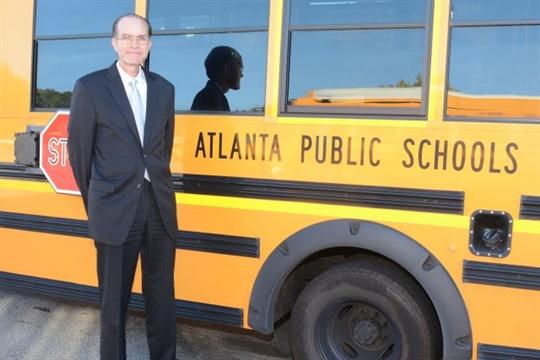 Last year's School Bus Fleet Administrator of the Year award went to John Franklin, executive director of transportation for Atlanta Public Schools.