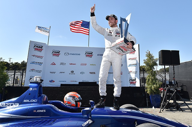 Ed Jones is theIndy Lights Champion for 2016.