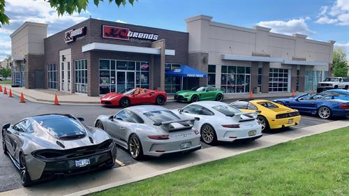 KC Trends Motorsports specializes in custom tires and wheels for high performance sports cars, mid-size SUVs and pickup trucks. Owner Chad Dearth says the UHP tire market is as strong as ever.