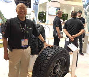 The Kanati Armor Hog ATX's all-steel construction is the first of its kind for the light truck category, says Randy Tsai. It will hit the market in 2020.