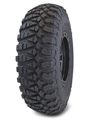 GBC Motorsports says the new Kanati Terra Master is the industry's first UTV tire with an asymmetrical, non-directional tread pattern.