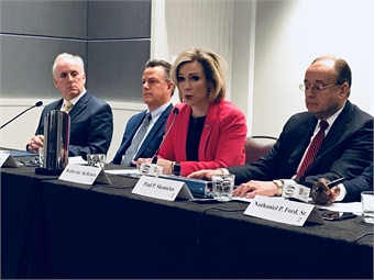 Port Authority of Allegheny County's Katherine Eagan Kelleman said CIG funds would be used to make more efficient connections to Downtown Pittsburgh and neighborhoods that are home to several major hospitals and universities.