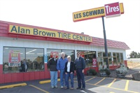 Ken Brown's parents, Alan and June Brown, founded the Alan Brown Tire Center in Newport, Ore., in 1972. Ken's brother Tad manages the dealership's second location in nearby Toledo, Ore.