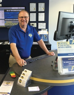 Ken Sylvester, a founding member of United Tire and Service, is an installer for Goodyear's tire shopping website and plans to participate in Michelin's new e-commerce website for BFGoodrich brand tires.