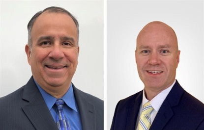 David Alari, left, and Rob Schussler, will work as sales managers for Kenda.