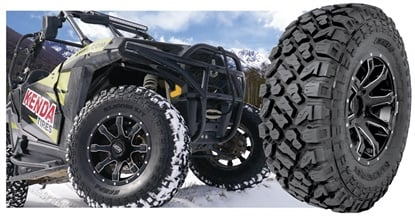 The Kenda Klever XT tire is designed for utility, UTV and side-by-side applications.