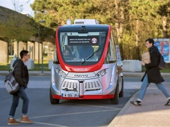 Keolis is firmly convinced by the importance of autonomous shuttles in improving transport services to campuses as it enables people to use a shared mobility service between the university and existing public transport networks