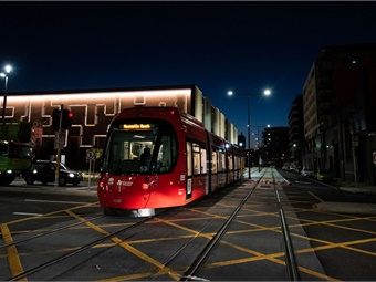 As part of the testing phase, 14 drivers were trained and a record 6,200 miles driven in just over four months, equivalent to 1,000 trips per tram across the network. Keolis