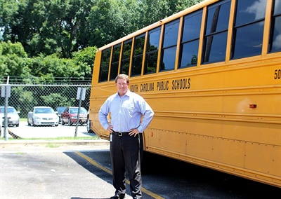 The Beaufort County (S.C.) School District ended its relationship with a school bus contractor and hired Kerry Mayo, a former private-sector school bus executive, as its director of transportation.