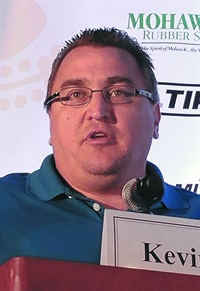 Kevin Rohlwing presented his annual OTR tire industry forecast.