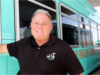 Before joining VVTA in 1998, Kane served as marketing and planning director for Knoxville Area Transit and previously worked in the newspaper business, also serving as Newspaper Advertising Bureau VP for five years.