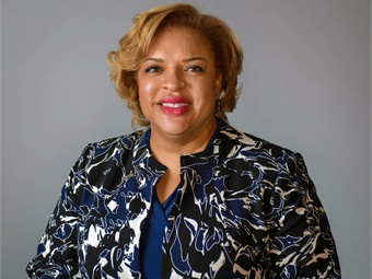 Kimberly Slaughter, transit/rail market sector leader for HNTB Corp., was appointed sr. VP of the firm. Photo: HNTB