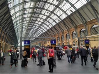 Kings Cross Station, London All photos courtesy Giles Bailey