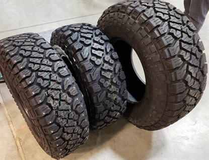 The Klever XT tire was built to match the Kenda Klever R/T for light truck applications.