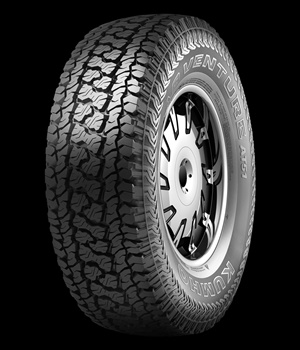 The Kumho Road Venture AT51 has a 55,000-mile limited warranty for P-metric sizes.