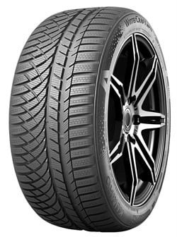 Kumho's premium WinterCraft WP72 for sedans features an asymmetric patter design for enhanced snow performance as well as wet/dry traction.