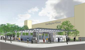 Los Angeles Regional Connector 2nd. St./Broadway Station rendering.