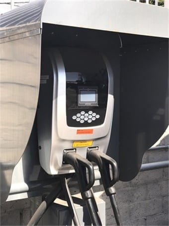 Along with ensuring compatibility with advanced charge station use cases, the EVCS Certification Program ensures that charge station hardware complies with the Open Charge Point Protoco.Long Beach Transit