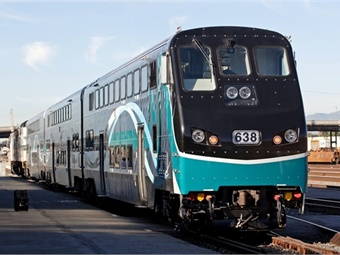 Metrolink's trend toward higher ridership has continued this new fiscal year.