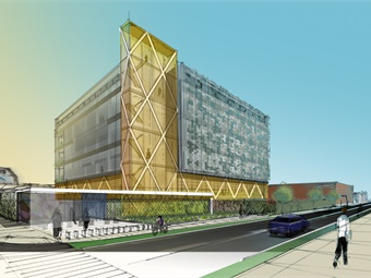 A preliminary schematic rendering prepared by HDR illustrates LA Metro's future Emergency Security Operations Center.