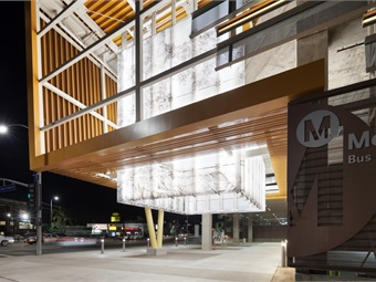 L.A. Metro's Division 13 Bus Operations & Maintenance Facility.