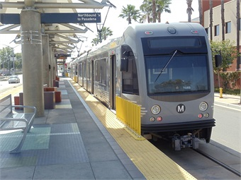 The Gold Line, which launched earlier this year, was funded by Measure R, the half-cent sales tax measure approved by the voters of LA County in 2008.
