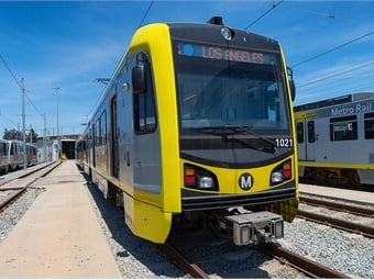 The rest of Metro Rail and the Silver Line and Orange Line will transition to the new naming convention when the Crenshaw/LAX line opens.