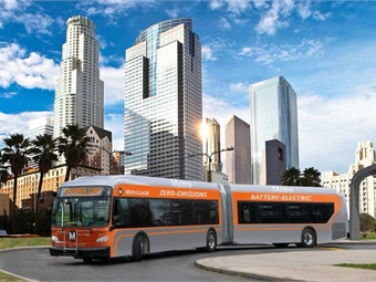 Los Angeles Metro has committed to conversion of its entire 2,400 bus fleet by 2030.