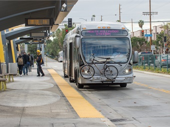 The study will develop a plan for transit service improvements to provide faster and more reliable trips as an alternative to driving.