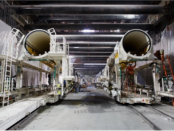 The TBMs will work in tandem, with Elsie expected to trail her sister by about 150 feet. L.A. Metro