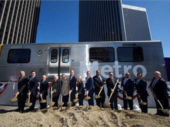 According to the Los Angeles County Economic Development Corporation, the Purple Line Section 2 project will create over 20,500 jobs in Southern California.