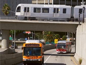A new survey finds a perceived lack of safety and convenience are dissuading people from using public transportation in Los Angeles County. LA Metro