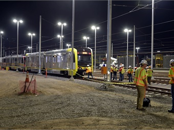 The yard includes provisions for future expansion as the rail vehicle fleet increases in size to 70 cars. Metro/Luis Inzunza