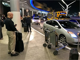 If airports want to regulate rideshare, they need to offer alternative service that's capable of competing with the likes of Uber and Lyft. J. Starcic/METRO Magazine