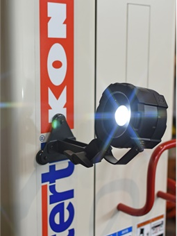 The Palm Light provides up to 800 lumens of directed light.