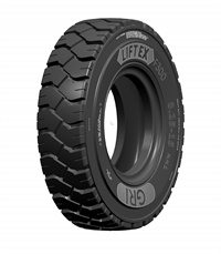 The tread design on the LiftEx provides a massive footprint for optimal grip.