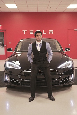 eMotion CEO Abdullah Ilahi started the company because of Tesla's advanced tech capabilities, zero emission yield, luxury interior amenities, and outward aesthetic.