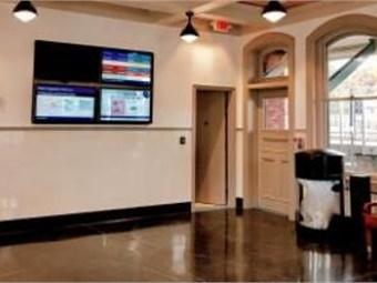 Long Island Railroad's Farmingdale Station interior. Photo: NY MTA