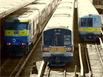 MTA Long Island Rail Road has launched a beta test of an online tool that allows customers to see the real-time position of trains on a map. Photo: MTA/LIRR Facebook
