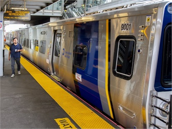The cars are designed and manufactured by Kawasaki Rail Car, based in Yonkers, N.Y.LIRR