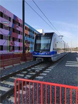 The Blue Line Extension features 11 new stations on the LYNX Blue Line.Photo courtesy of Charlotte Area Transit.