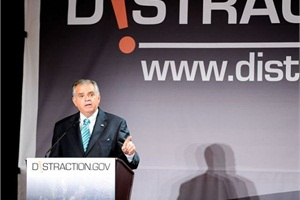During his four years as U.S. transportation secretary, Ray LaHood showed support for the school bus industry and took on issues impacting it, such as distracted driving.